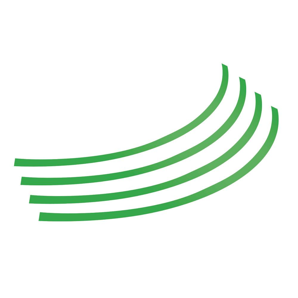 Rim-Stickers, profili adesivi ruota - Taglia 1 - Verde