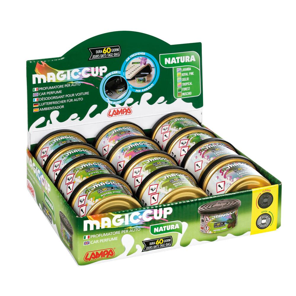 Magic Cup Natura, deodorante, display 12 pz assortiti