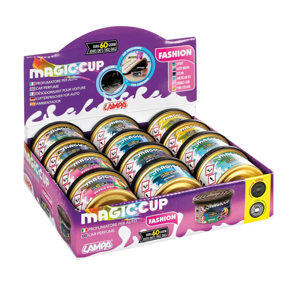 Magic Cup Fashion, deodorante, display 12 pz assortiti