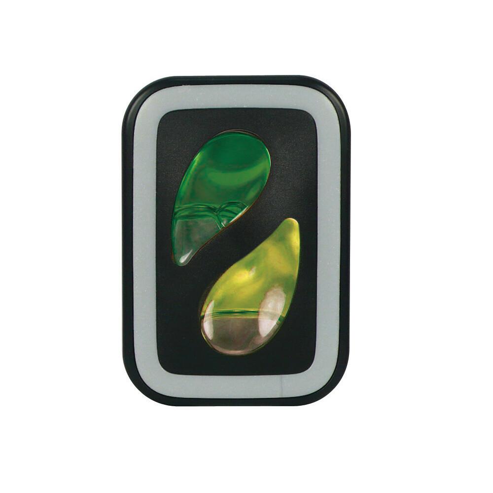 Double Fresh,  deodorante per abitacolo - 2x2,5 ml - Auto nuova + Limone