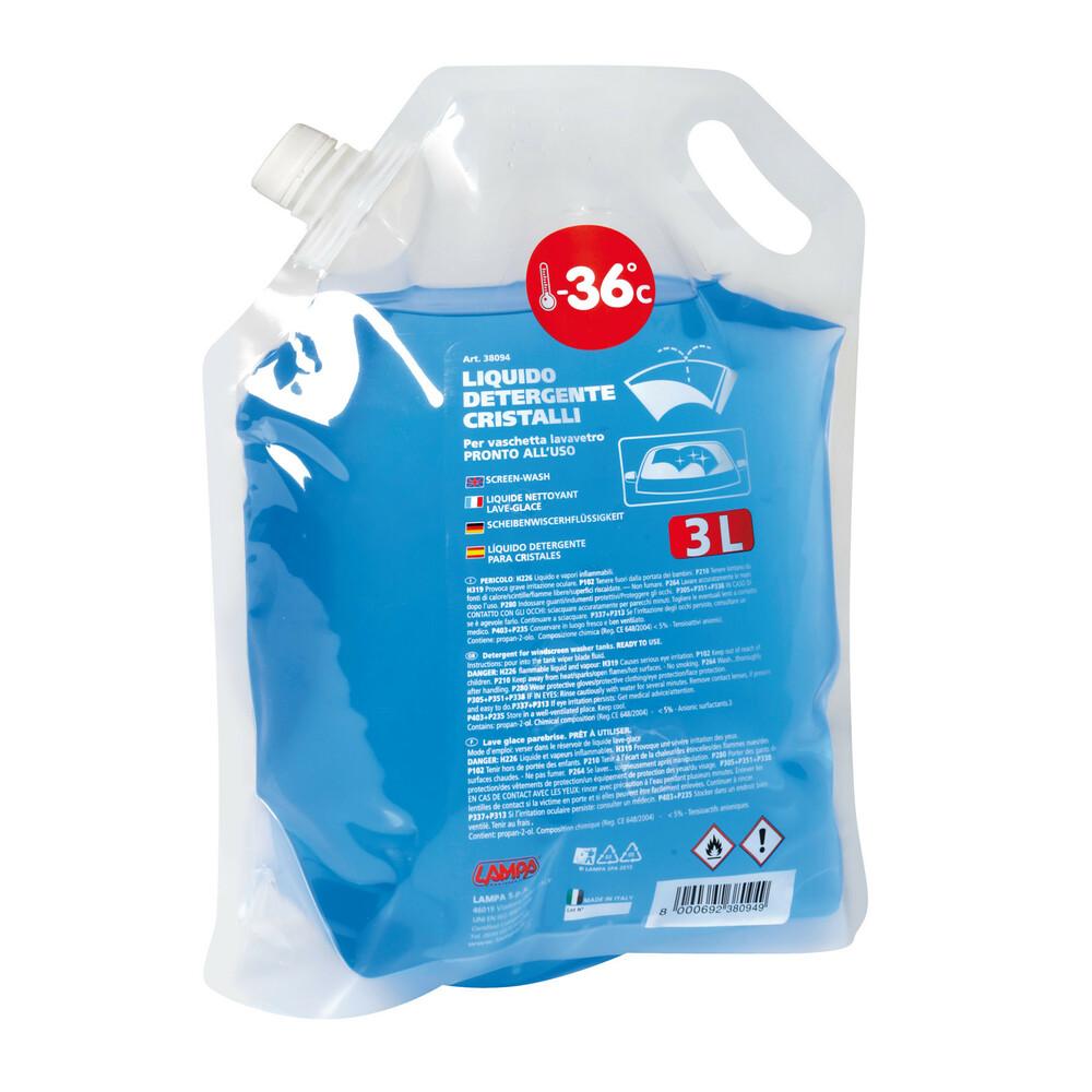 Liquido detergente cristalli (-36°C) - 3000 ml