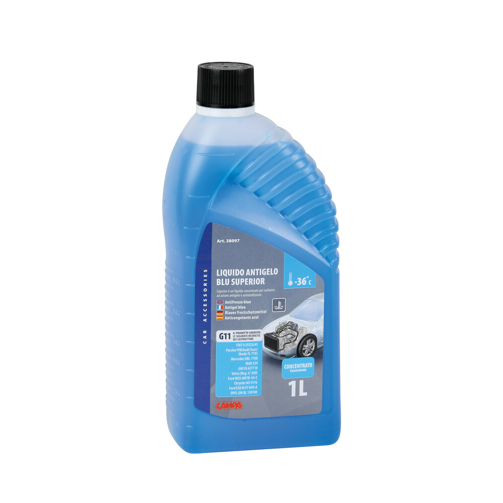 Superior-Blu, liquido antigelo concentrato - 1000 ml