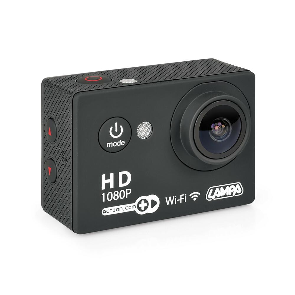 Action-Cam Plus, telecamera per sport 1080p Wi-Fi + Kit accessori