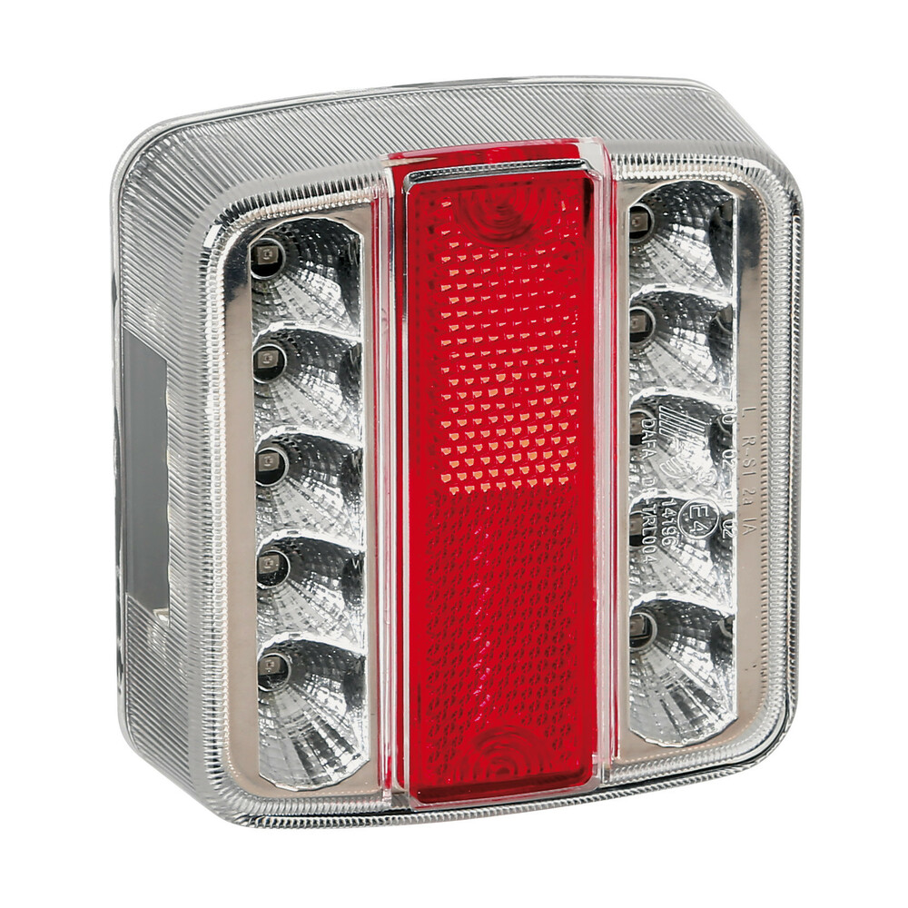 Full-Led, fanale posteriore a 14 Led, 12V