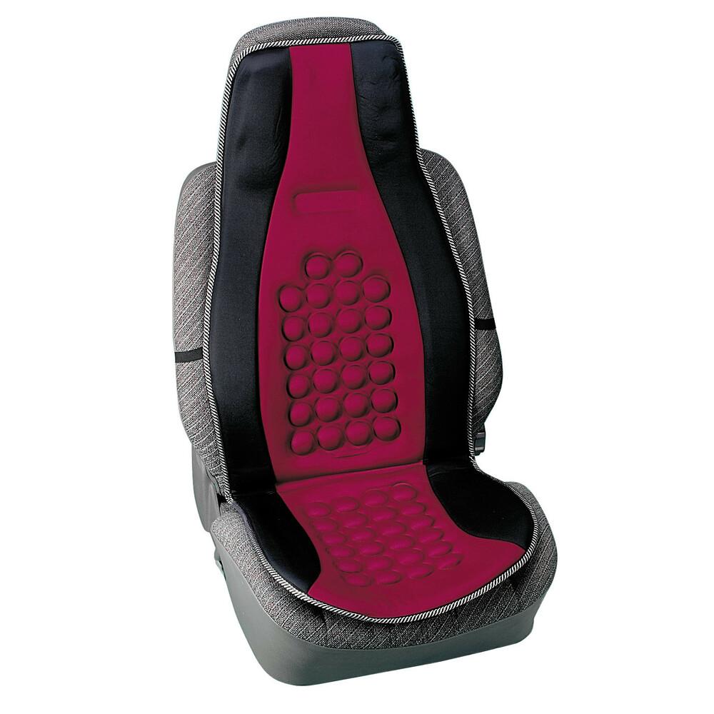 Pilot, schienale magnetico massaggiante - Nero/Rosso