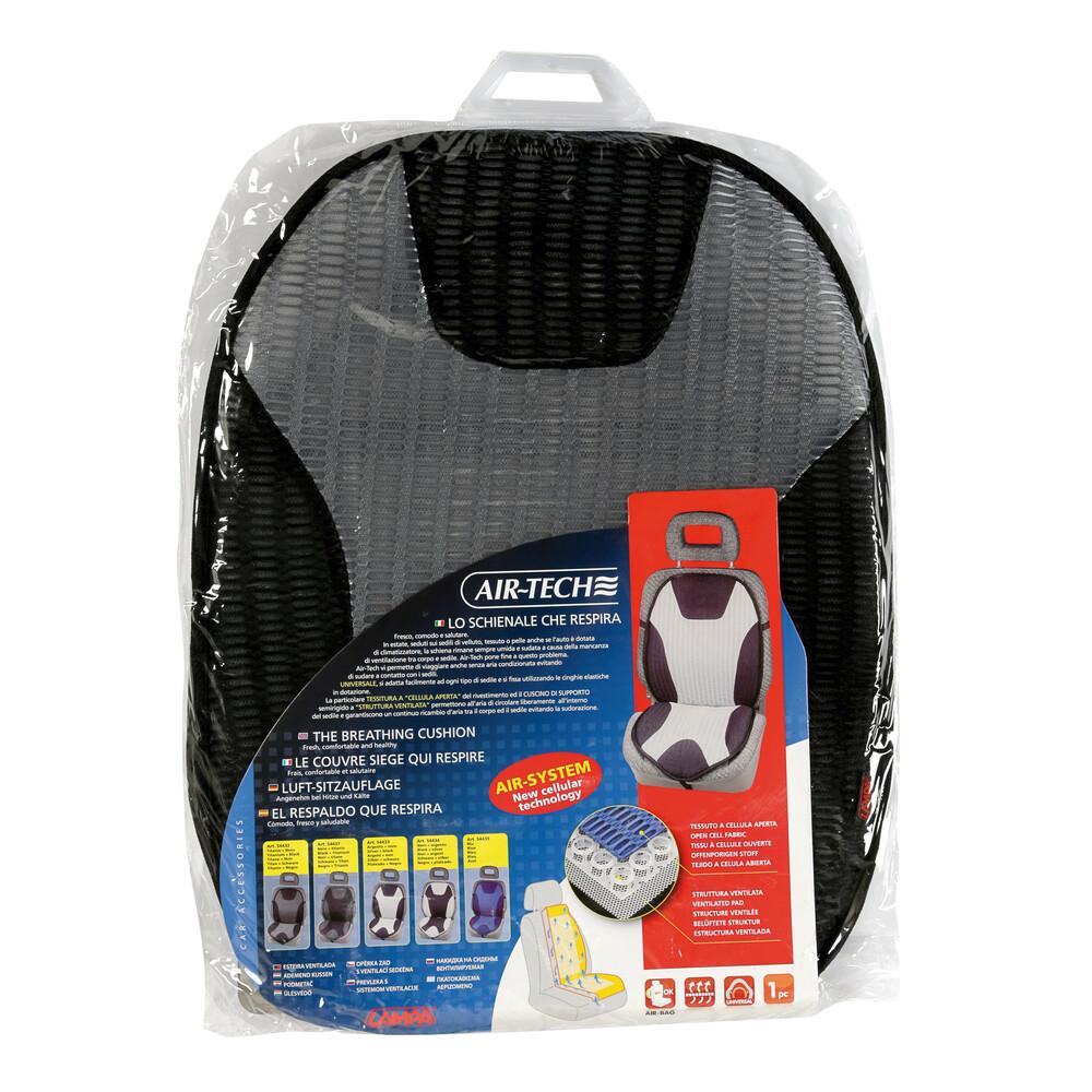 Air-Tech Nero//Titanio lo schienale che respira