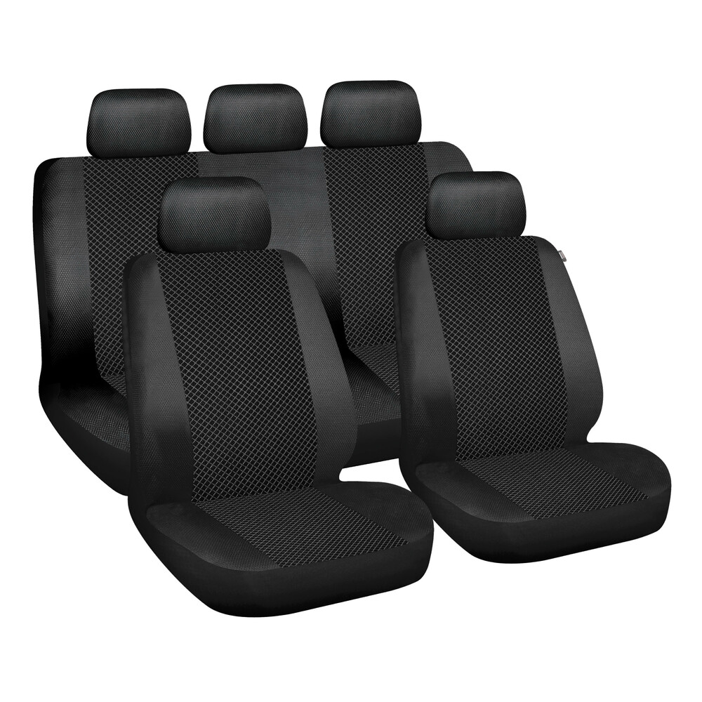 Web, seat cover set - Black
