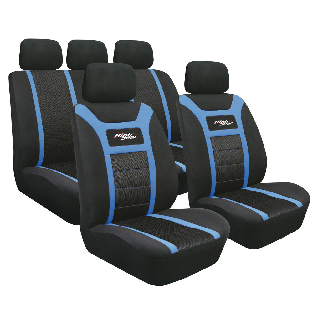 High-Gear, set fodere coordinate - Blu