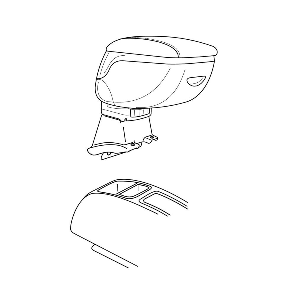 Attacco bracciolo -  Suzuki Wagon R+ (10/03>02/08)