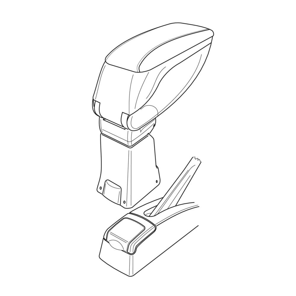 Attacco bracciolo -  Renault M