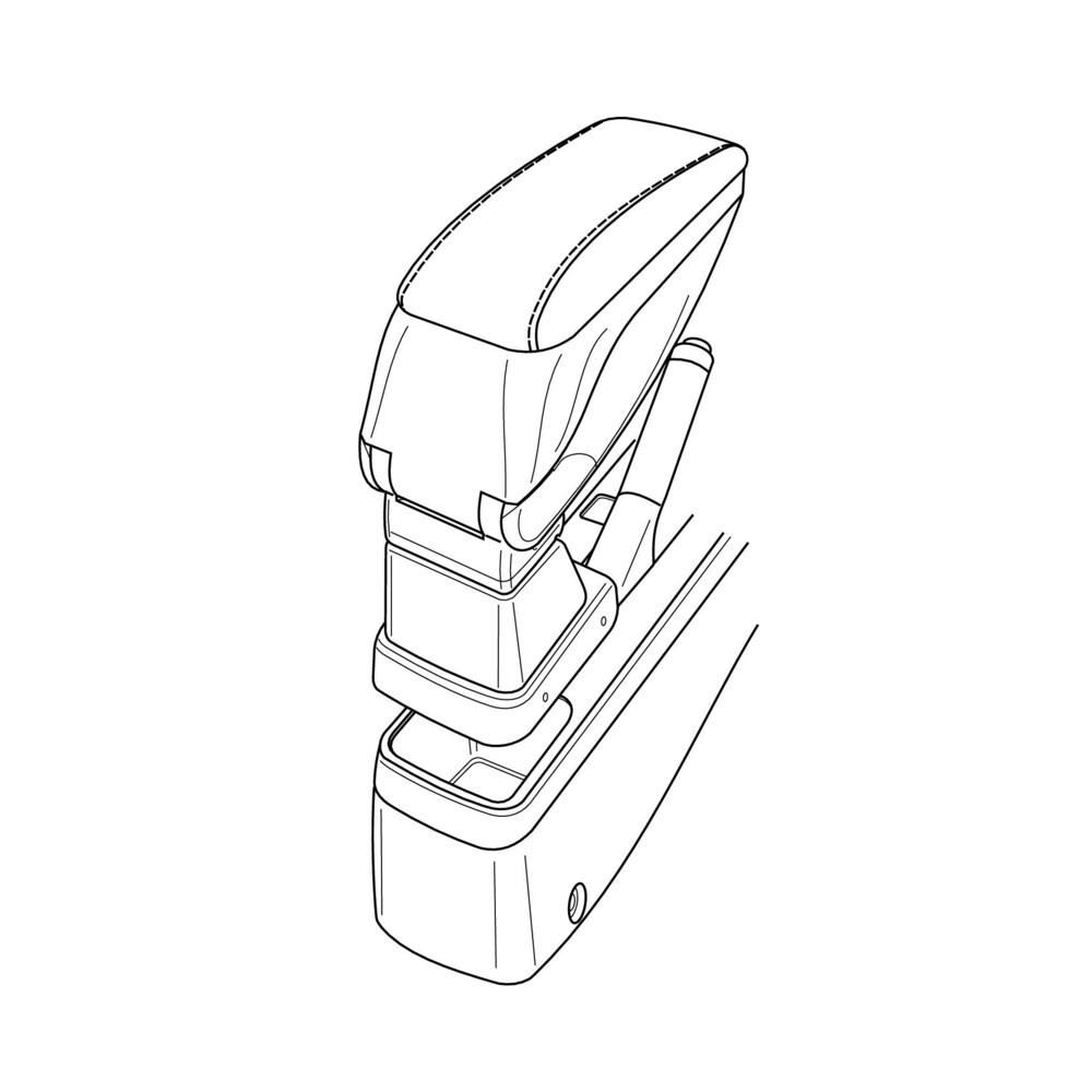 Attacco bracciolo -  Opel Agila (02/08>10/15)