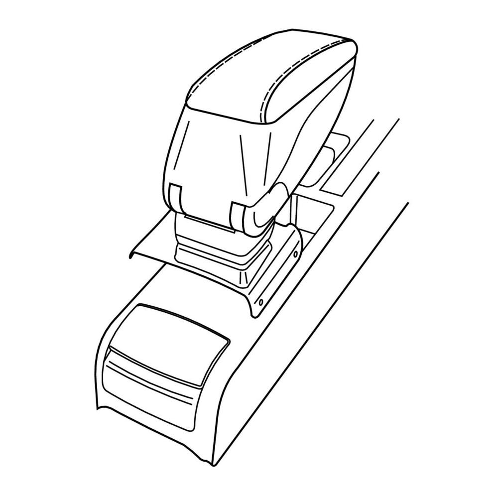 Attacco bracciolo -  Audi A4 4