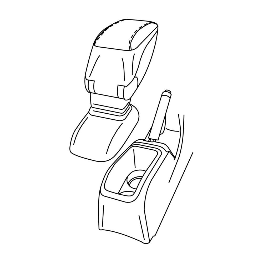 Attacco bracciolo -  Peugeot 2