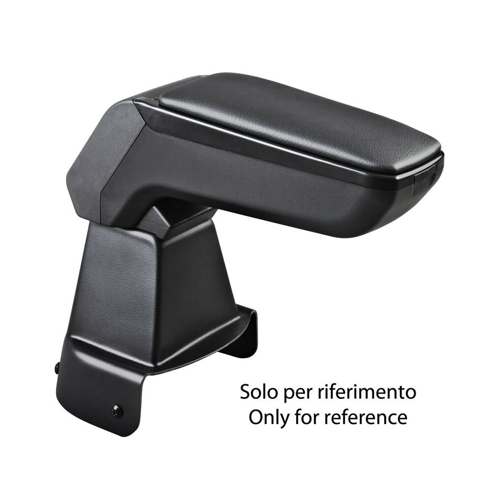 Armster S, bracciolo su misura - Nero -  Seat Mii 3p (05/12>) -  Seat Mii 5p (05/12>) -  Skoda Citigo 3p (05/12>) -  Skoda Citig