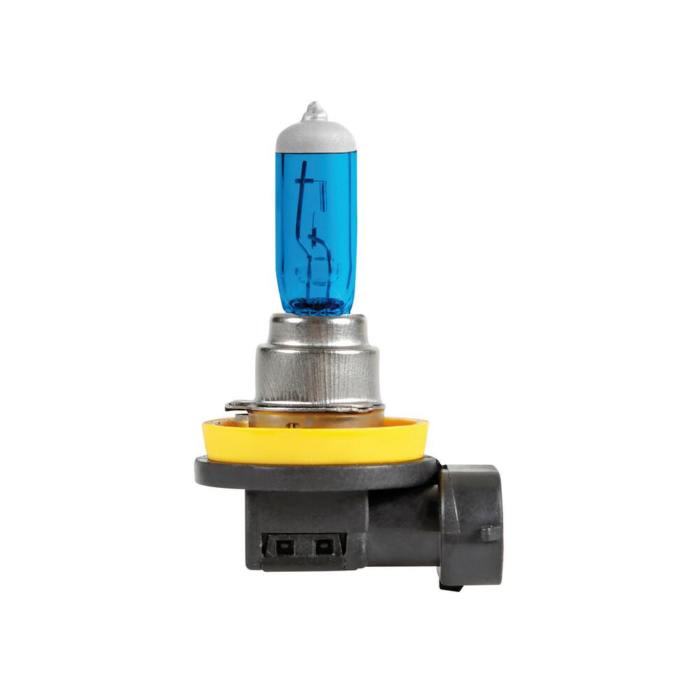 12V Lampada alogena Blu-Xe - H16 - 19W - PGJ19-3 - 2 pz  - Scatola Plast.