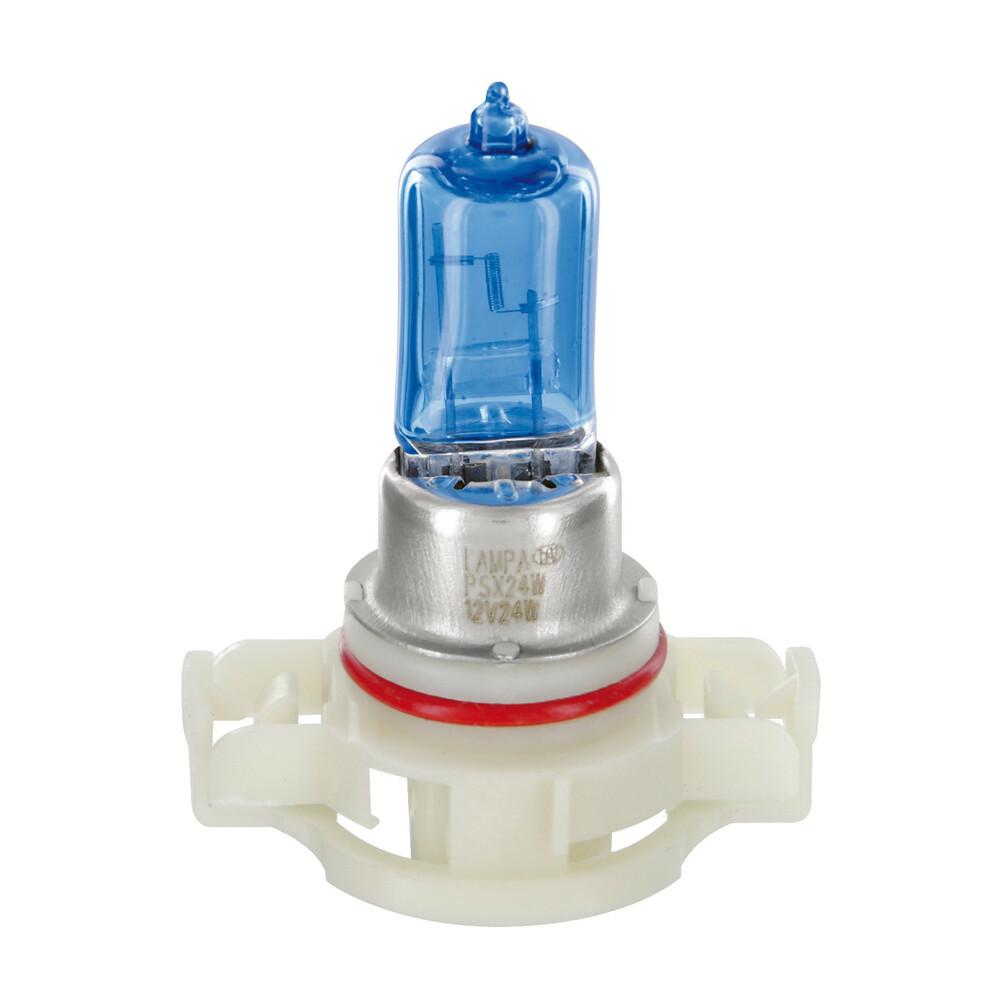 12V Lampada alogena Blu-Xe - PS24W - 24W - PG20-3 - 2 pz  - Scatola Plast.