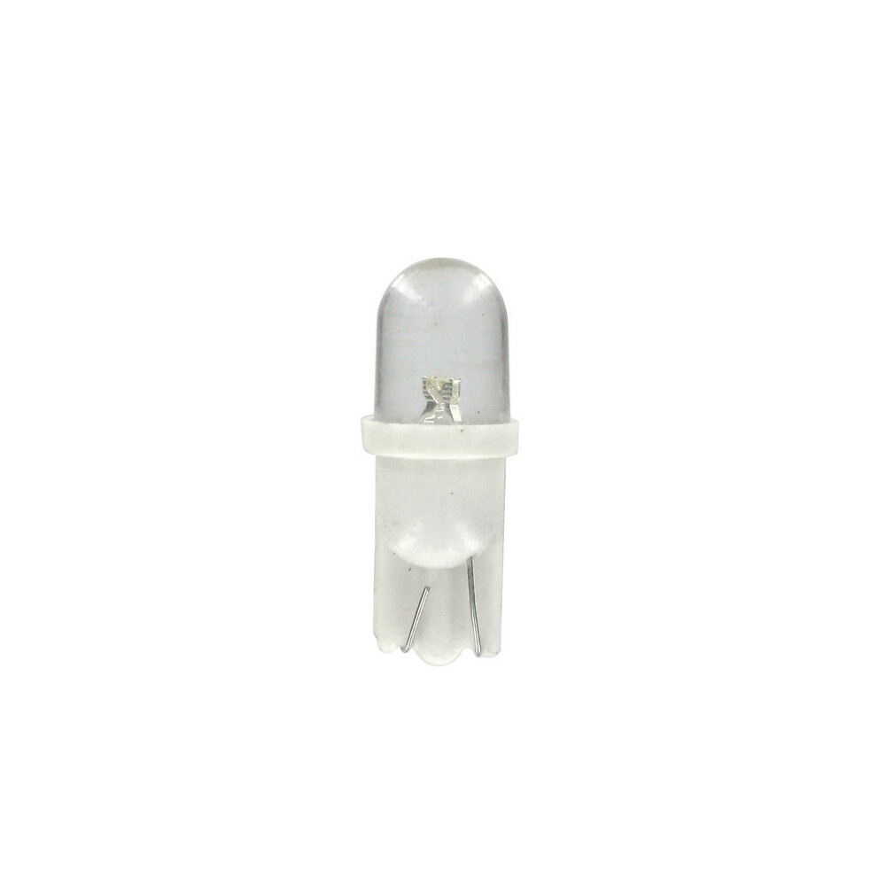 12V Colour-Led, lampada 1 Led - (T10) - W2,1x9,5d - 2 pz  - D/Blister - Bianco