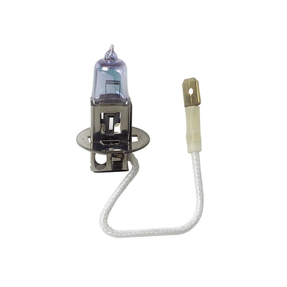 12V Lampada alogena Xenon - (H3) - 100W - PK22s - 2 pz  - Scatola Plast.