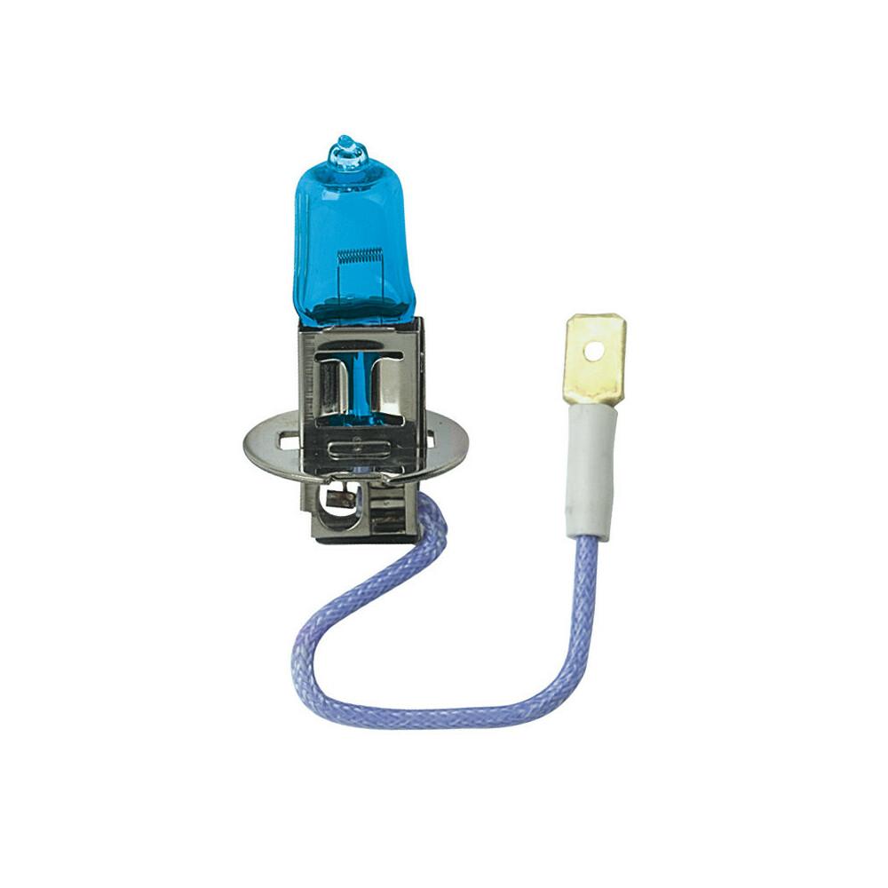 12V Lampada alogena Blu-Xe - (H3) - 100W - PK22s - 2 pz  - Scatola Plast.