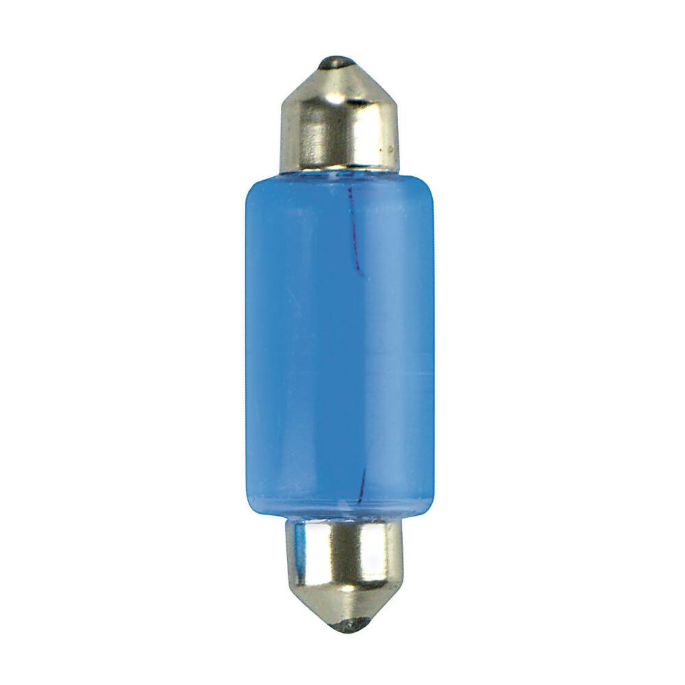 12V Lampada siluro Blu-Xe - 15x41 mm - 18W - SV8,5-8 - 2 pz  - D/Blister