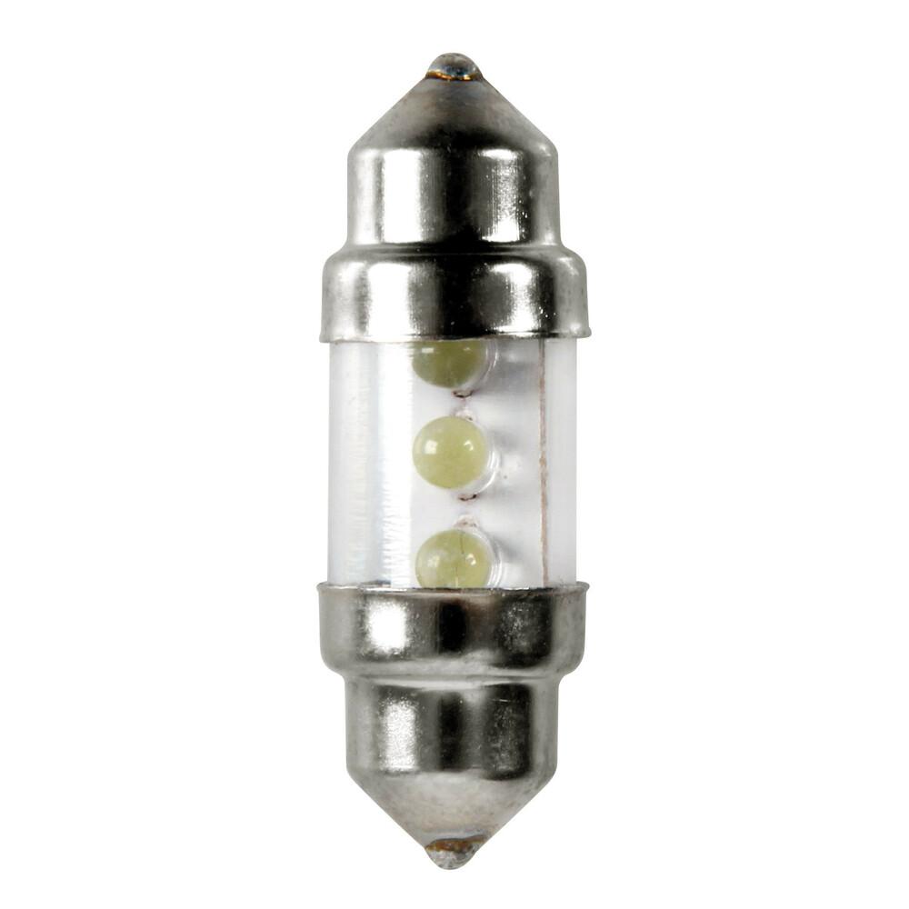 12V Lampada siluro 3 Led - 10x