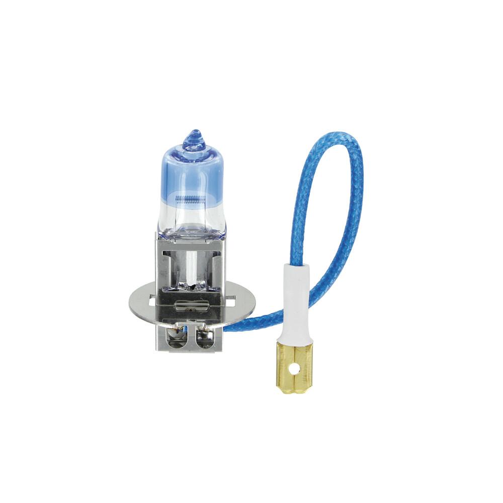 12V Lampada alogena Xenon Ultra +90% luce - H3 - 55W - PK22s - 2 pz  - Scatola