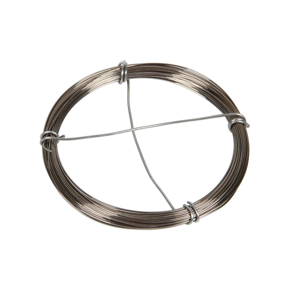 Filo acciaio zincato Ø 0,5 mm x 10 m