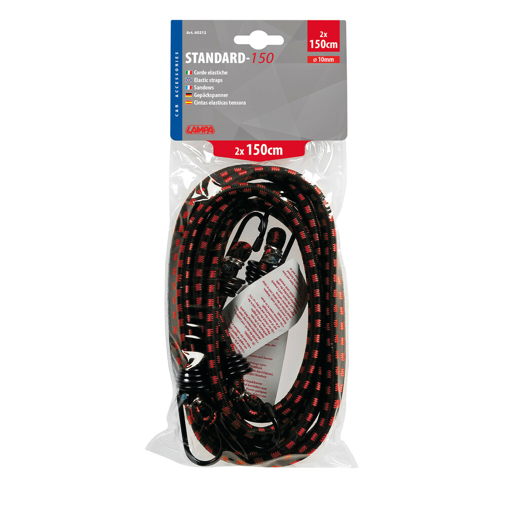 Corde elastiche Standard - Ø 10 mm - 2x150 cm