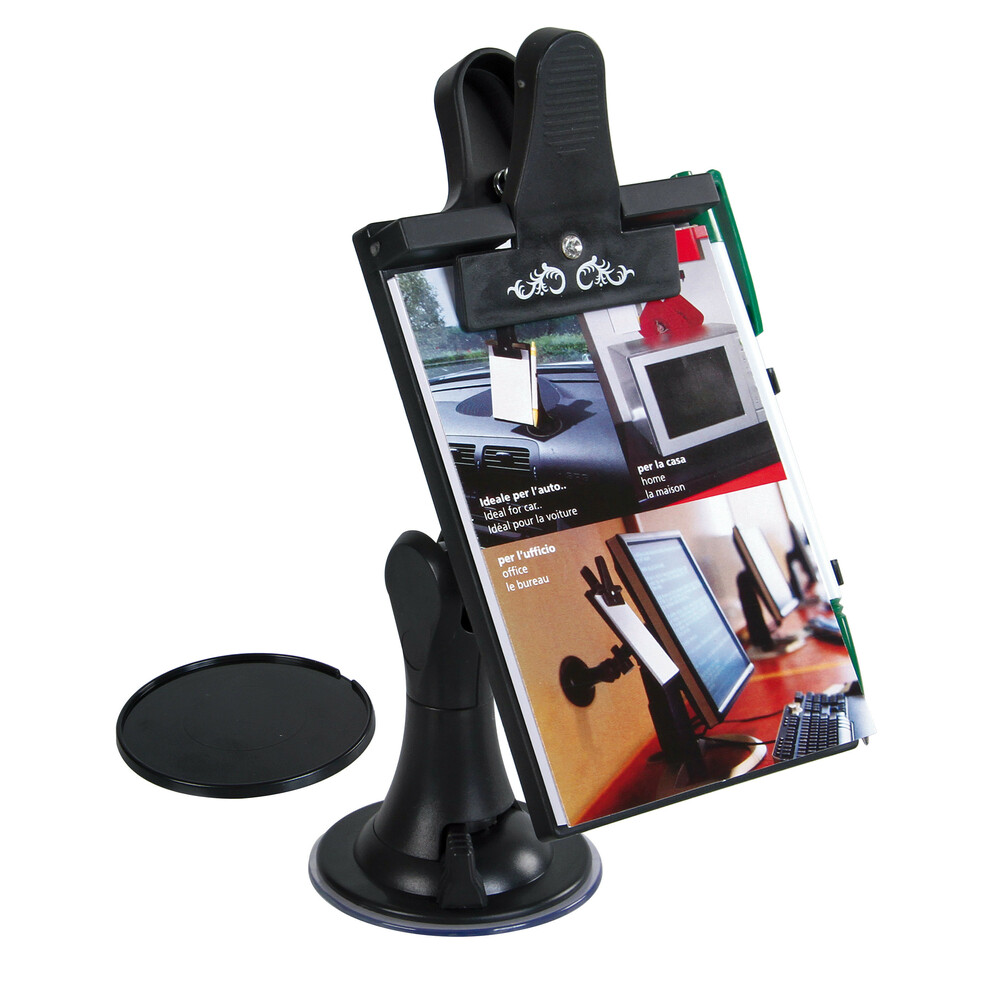 Multi-Fit, portanotes con supporto regolabile - 85x120 mm