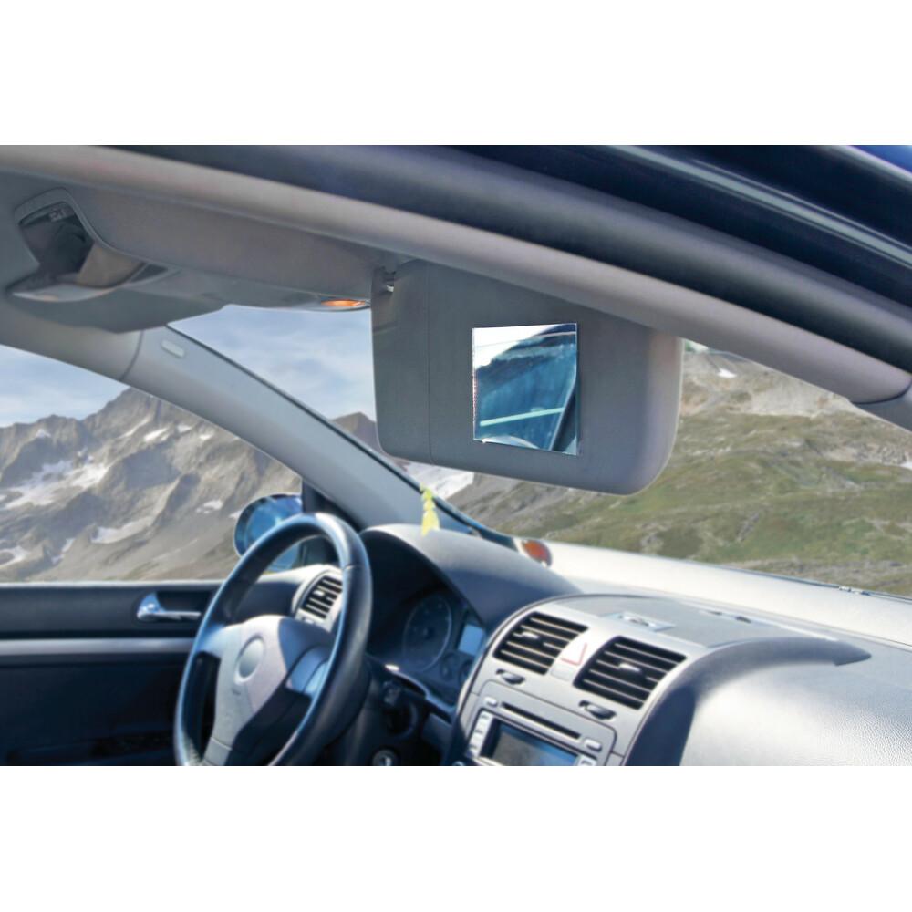 65505 SPECCHIETTO CORTESIA INTERNO ADESIVO 130X70 MM AUTO AUTOMOBILE LAMPA