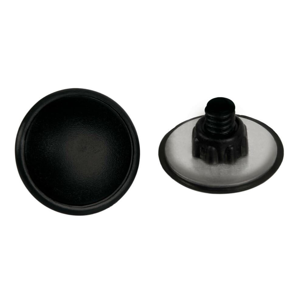 Coppia borchie copriforo in ABS - Ø 22 mm