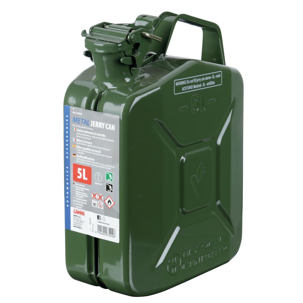 Tanica carburante tipo militare in