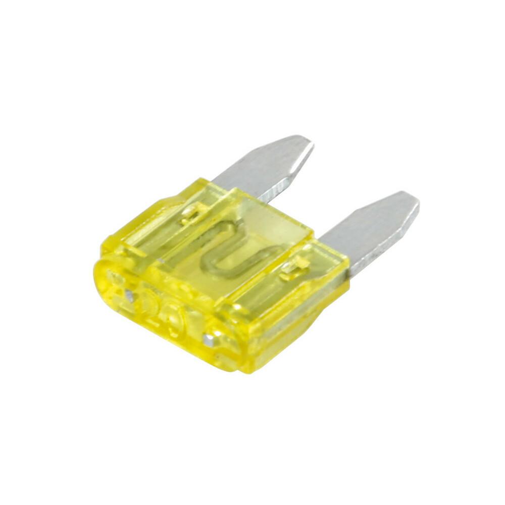 Set 100 micro fusibili lamellari, 12/32V - 20A