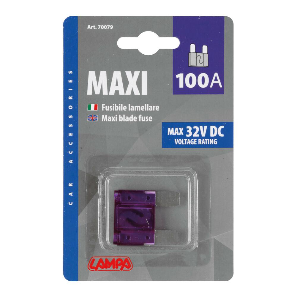 Fusibile lamellare Maxi, 12/32V - 100A