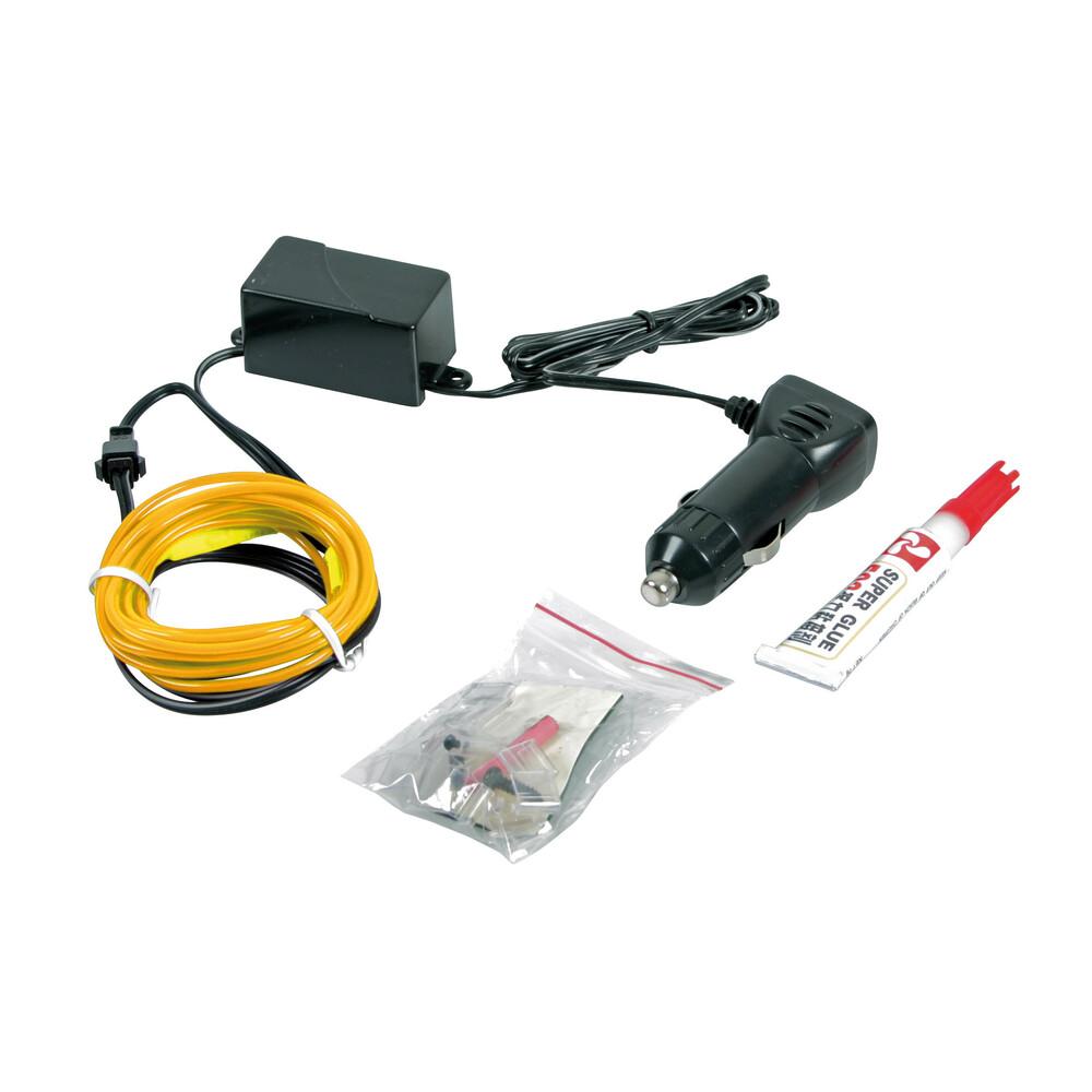 EL String-Light 12V - 100 cm - Giallo