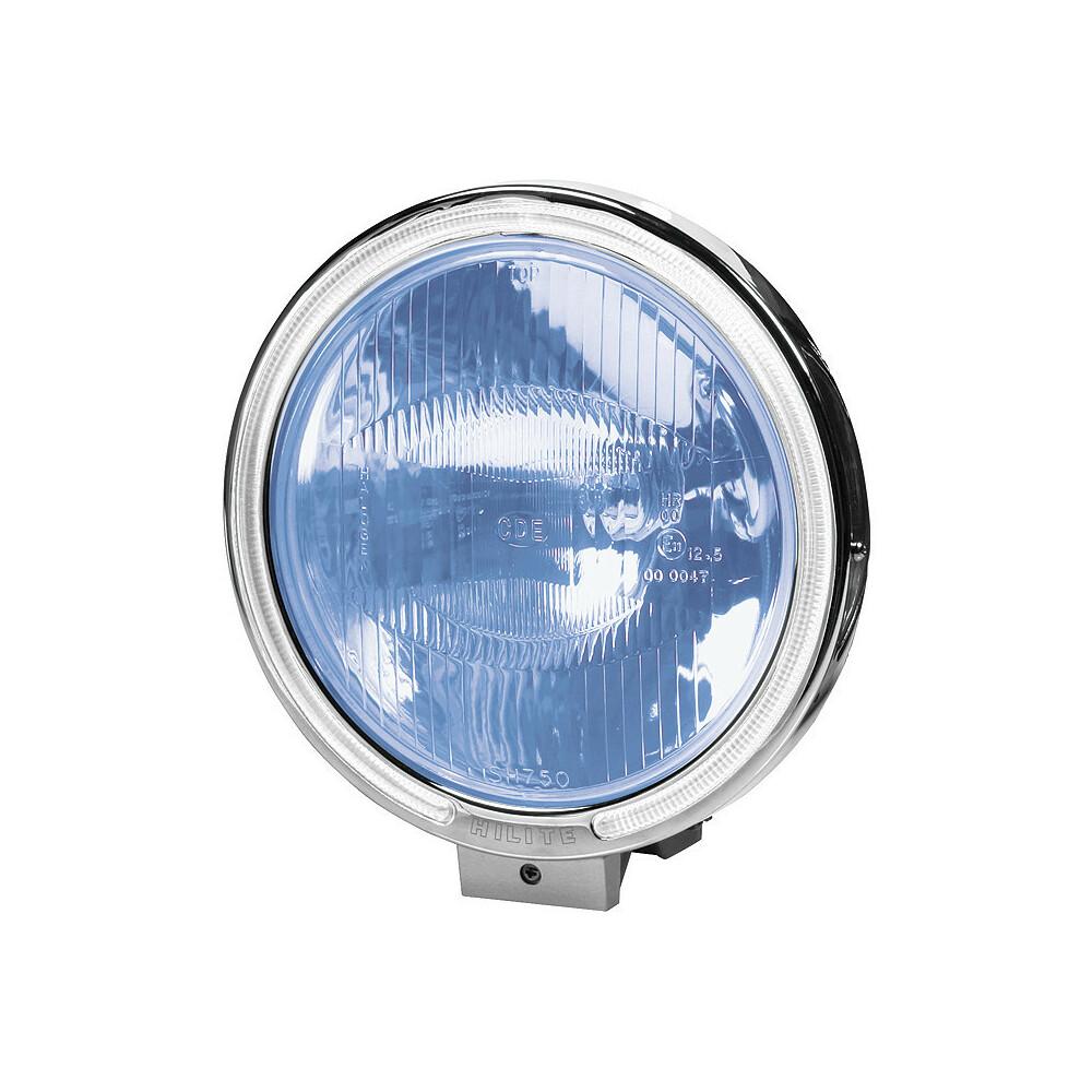 Angel-Eyes, Faro alogeno di profondità con luce di posizione a 8 Led - Blu