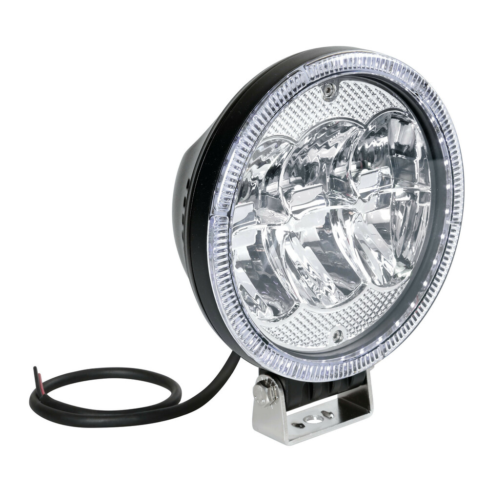 Angel-Led, proiettore supplementare a 42 Led - 12/24V - Ø 178 mm
