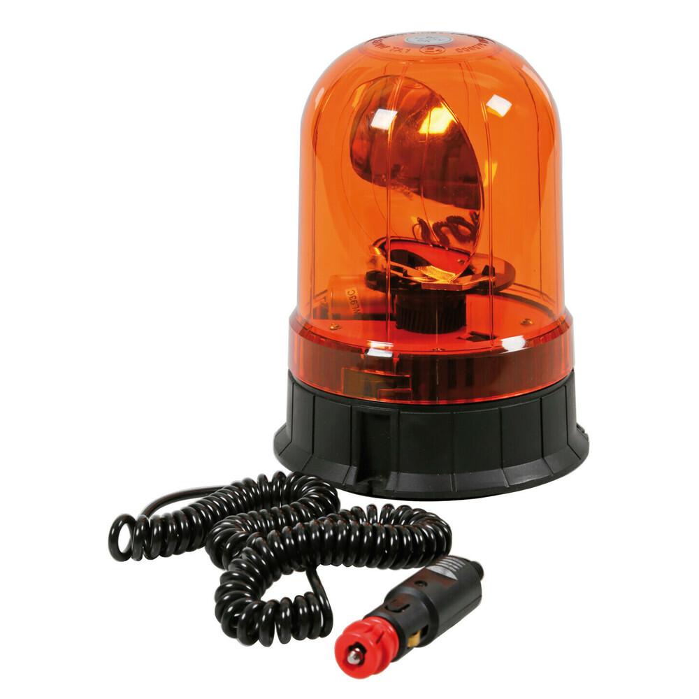 RH-2, lampada rotante alogena con base magnetica e ventosa, 12/24V