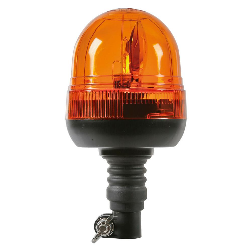 RH-3, lampada rotante alogena con base flessibile e attacco DIN, 12/24V
