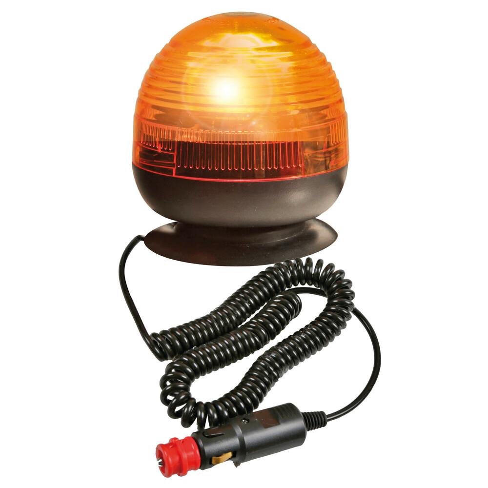 RH-4, lampada rotante alogena con base magnetica e ventosa, 12/24V