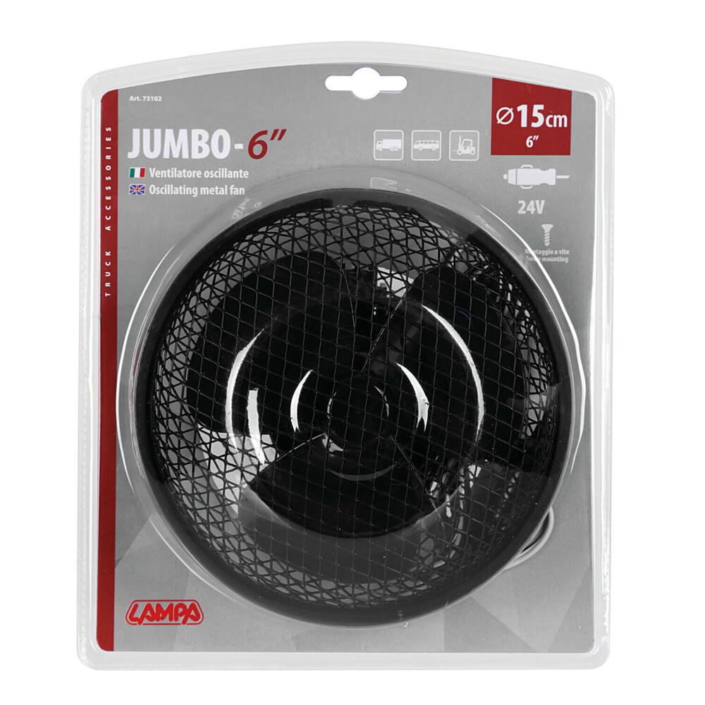 """Lampa Ventilator /""""Jumbo/"""" 15cm 12V"""