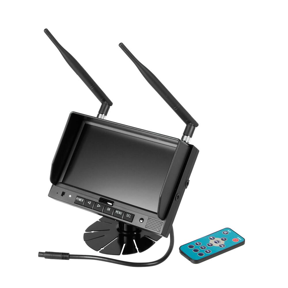M4, Monitor LCD 7\