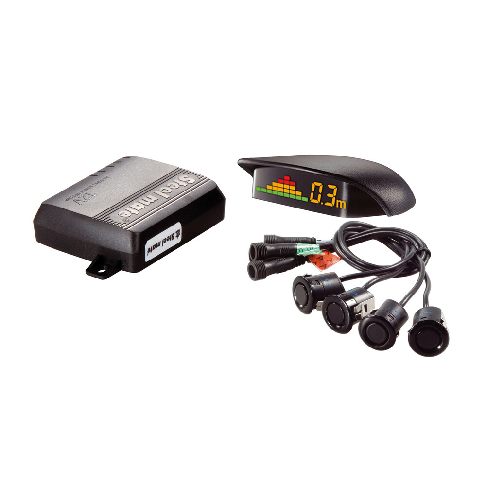 PTS400Q1, 4 parking sensors with wireless display, 12V