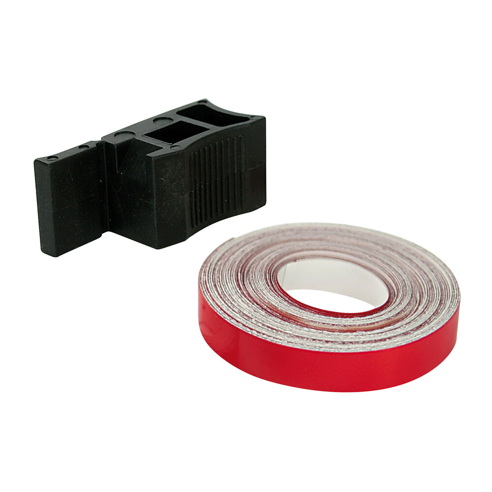 Profilo riflettente adesivo - Rosso