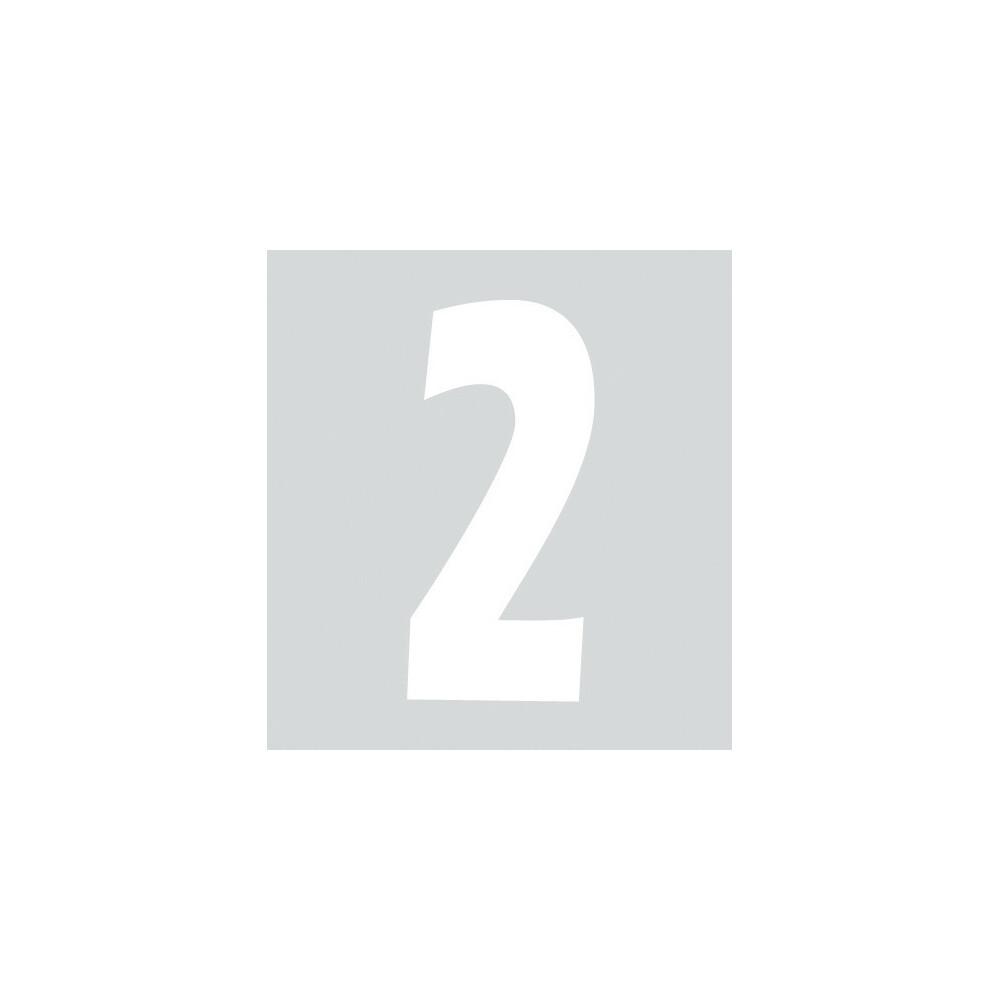 Spell-It, Numero adesivo (140x65 mm) - Bianco - 2