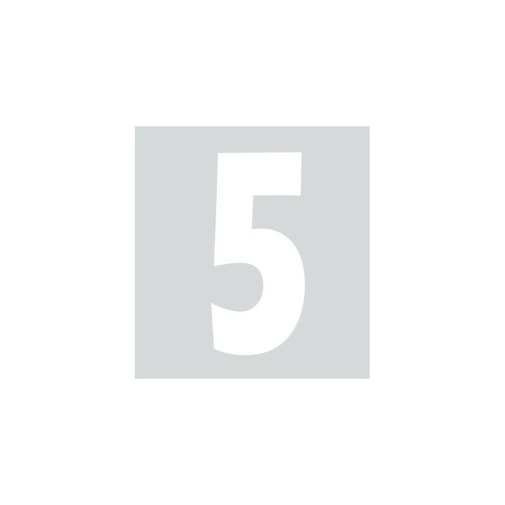 Spell-It, Numero adesivo (140x65 mm) - Bianco - 5