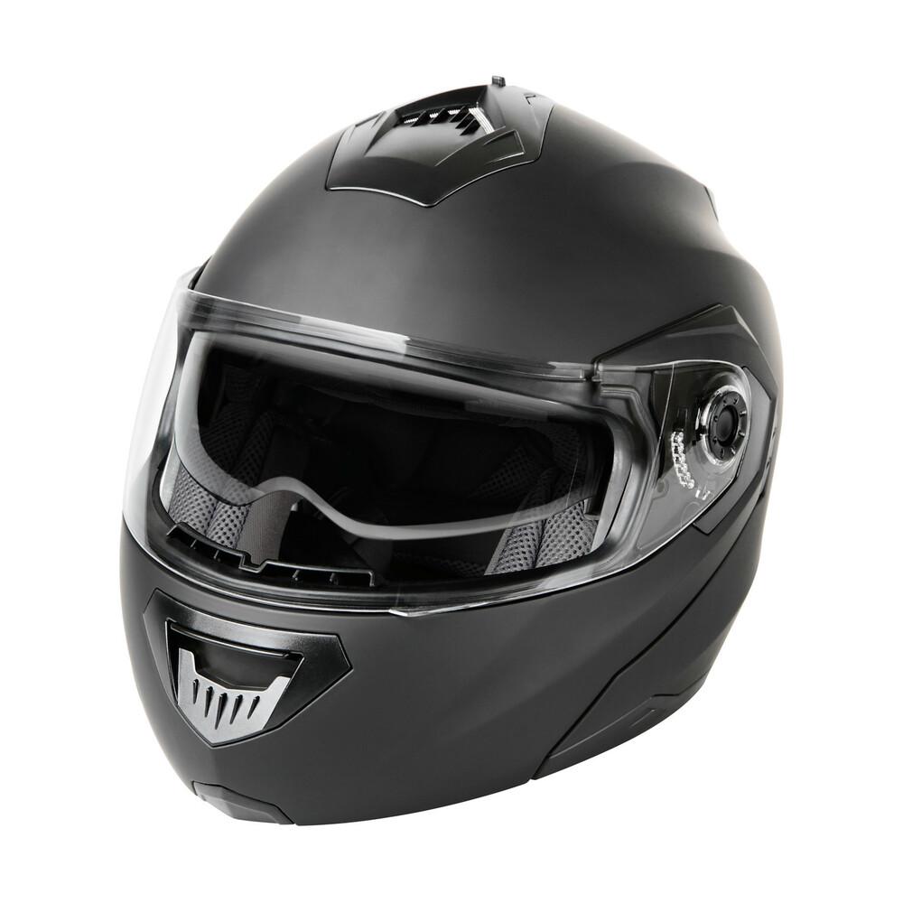 LA-1, casco modulare - Nero op