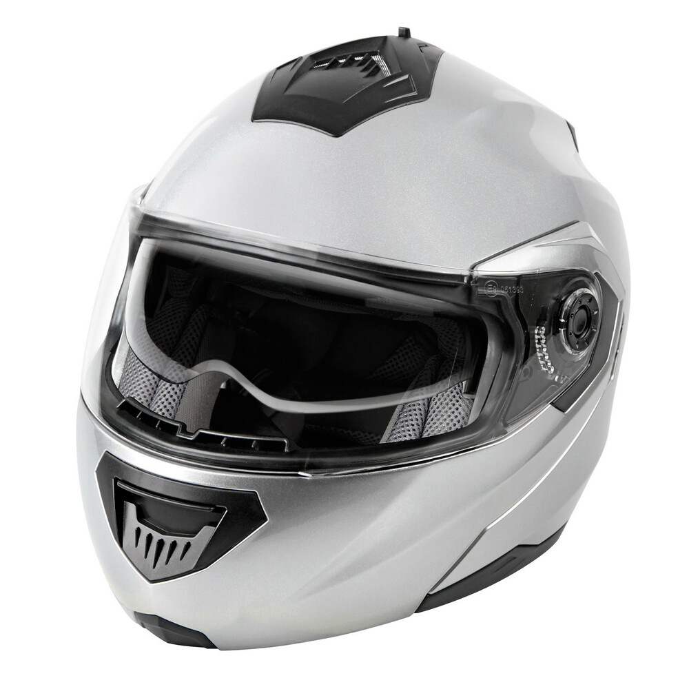 LA-1, casco modulare - Argento - XS