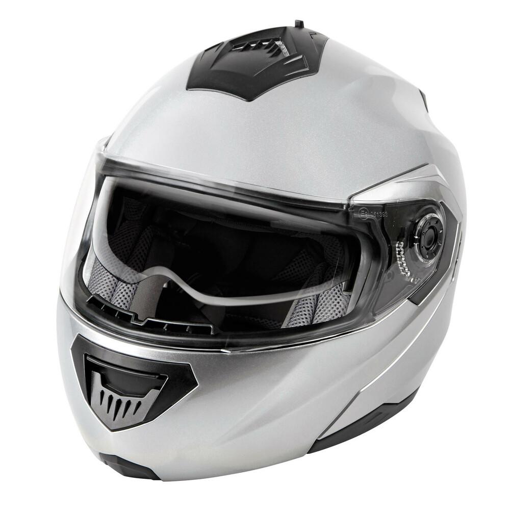 LA-1, casco modulare - Argento - M