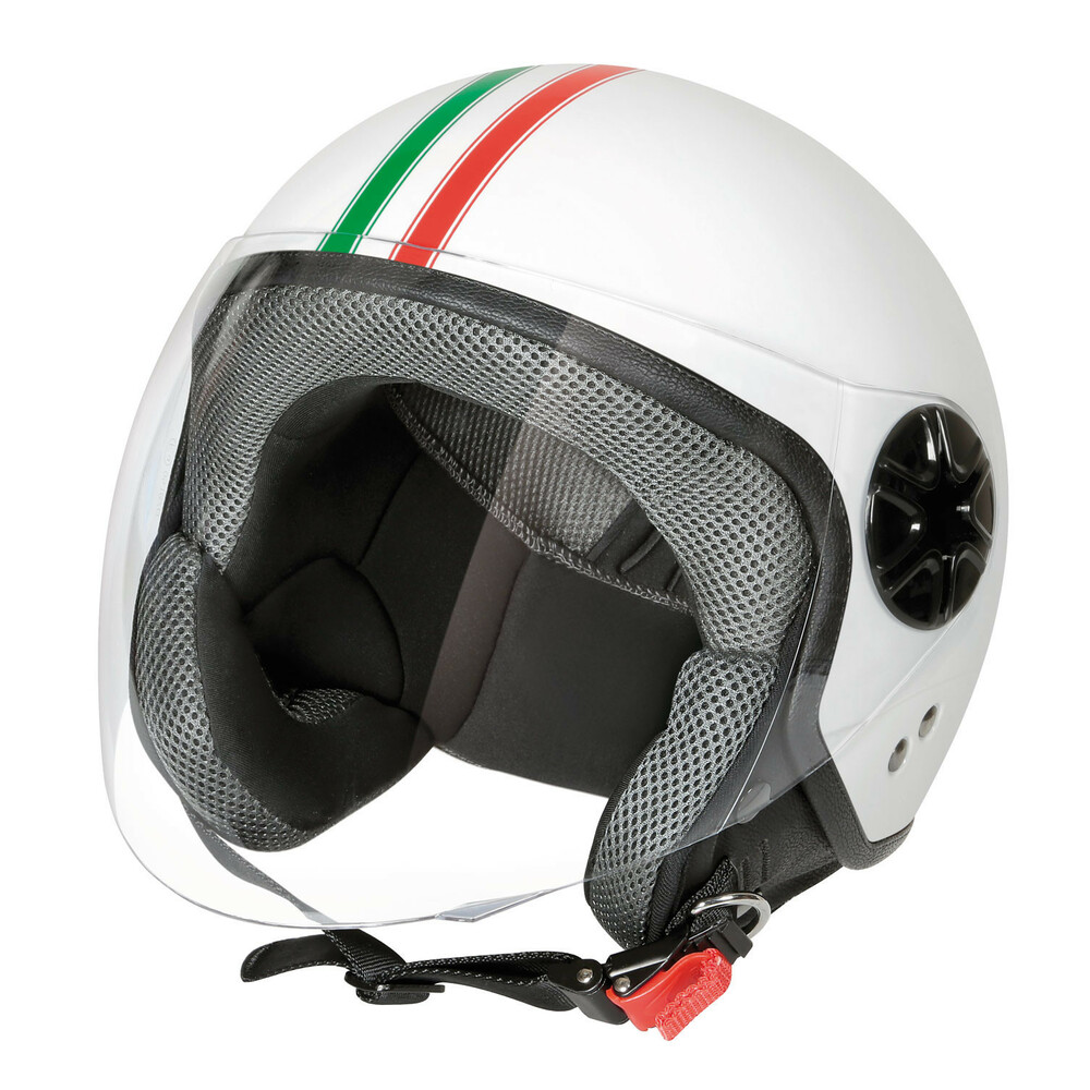 LD-3, casco demi-jet - Bandiera Italiana - S